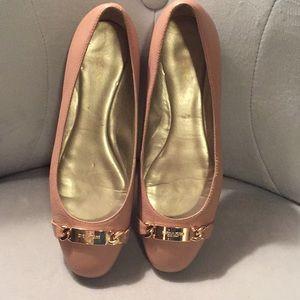 Coach pink ballet flats size 9.5